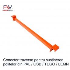 Conector sustinere pal, osb, tego 350 kg/nivel