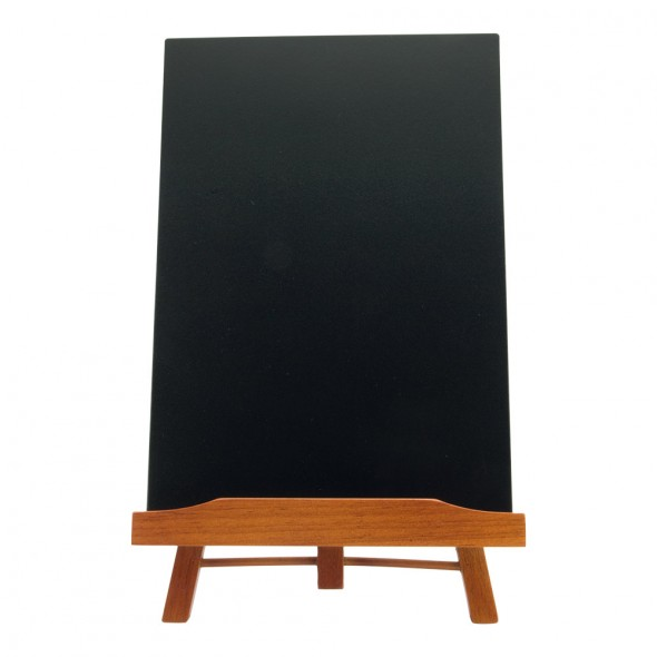 Trepied mahon cu tabla de scris A4 detasabil