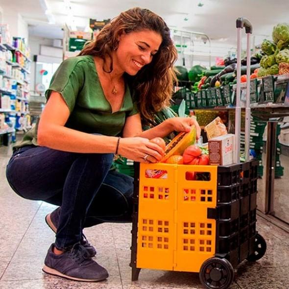 Carucior pliabil Shop&Go 60 de litri