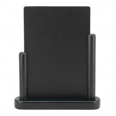 Tabla de scris cu suporti din lemn negru la margini