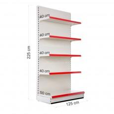 Rafturi metalice modulare - Raft de perete 225*125*60 cm