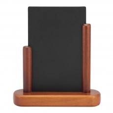 Tabla de scris cu suporti din lemn mahon la margini