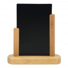 Tabla de scris cu suporti din lemn tec la margini