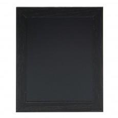 Tabla de scris pentru perete cu rama neagra din lemn