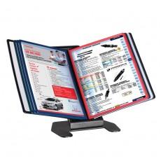 Display de Prezentare de birou, capacitate-10 buzunare A4