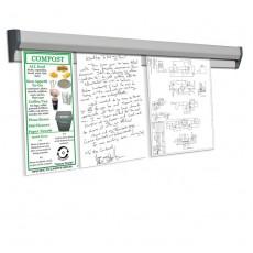 Quick Note 150 -suport pentru notite,  150 cm, mecanism de prindere/desprindere usoara a hartiei
