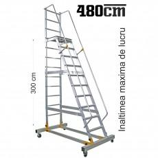 Scara mobila cu platforma - RD0012-3,0