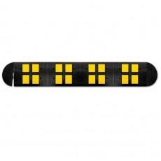 Limitatoare de viteză din cauciuc negru și galben